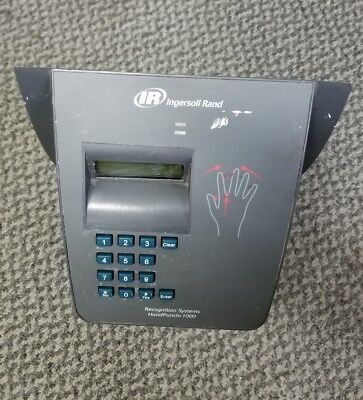 Ingersoll Rand Recognition Systems Handpunch Hp-1000 Scanner Time Clock