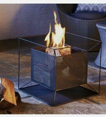 🔥Gardenline Square Fire Basket, Firepit, Log Burner, Patio Heater🔥