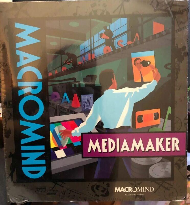 MEDIAMAKER - MACROMIND - For Macintosh*