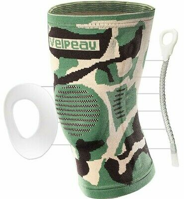 Velpeau Knee Brace - Best Knee Support with Patella Gel Pads & Side Stabilizers