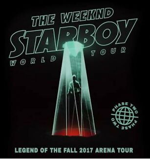 2x The Weeknd tickets, Sydney