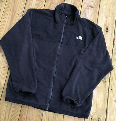 Vintage 90s The North Face Black Denali Fleece Jacket Sweatshirt TNF Men's Large