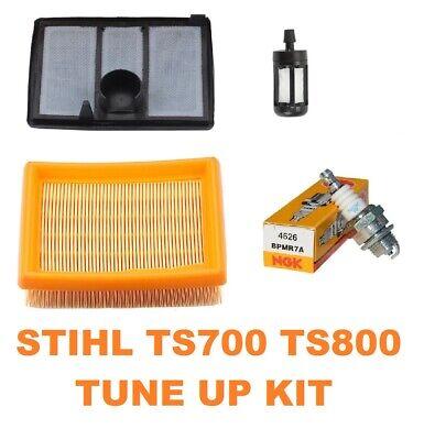 Air Fuel Filter Fits Stihl Ts700 Ts800 Cut Off Saw Ngk Plug