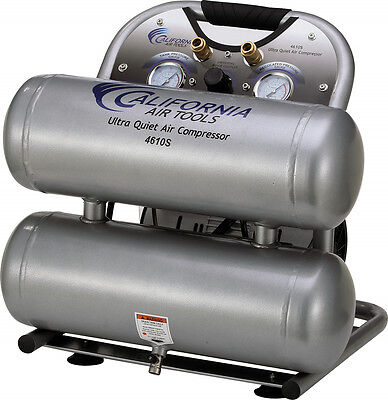 Cat- 4610s Ultra Quiet Oil-free Lightweight Air Compressor - Used
