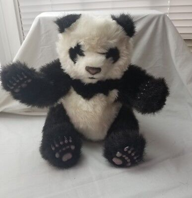 "2004 Hasbro Fur Real Friends Furreal Panda Bear Luv Cub Interactive 12"" Plush"