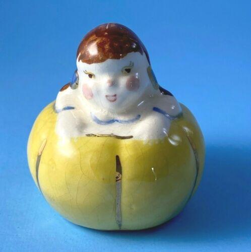 Vintage Poinsettia Studios Peter Pumpkin Eater Wife Single Salt Shaker