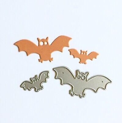 Fledermaus Für Halloween (Stanzschablone