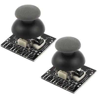 2x Raspberry Pi Arduino 9 Pin Joystick Module Shield Button Game Sensor