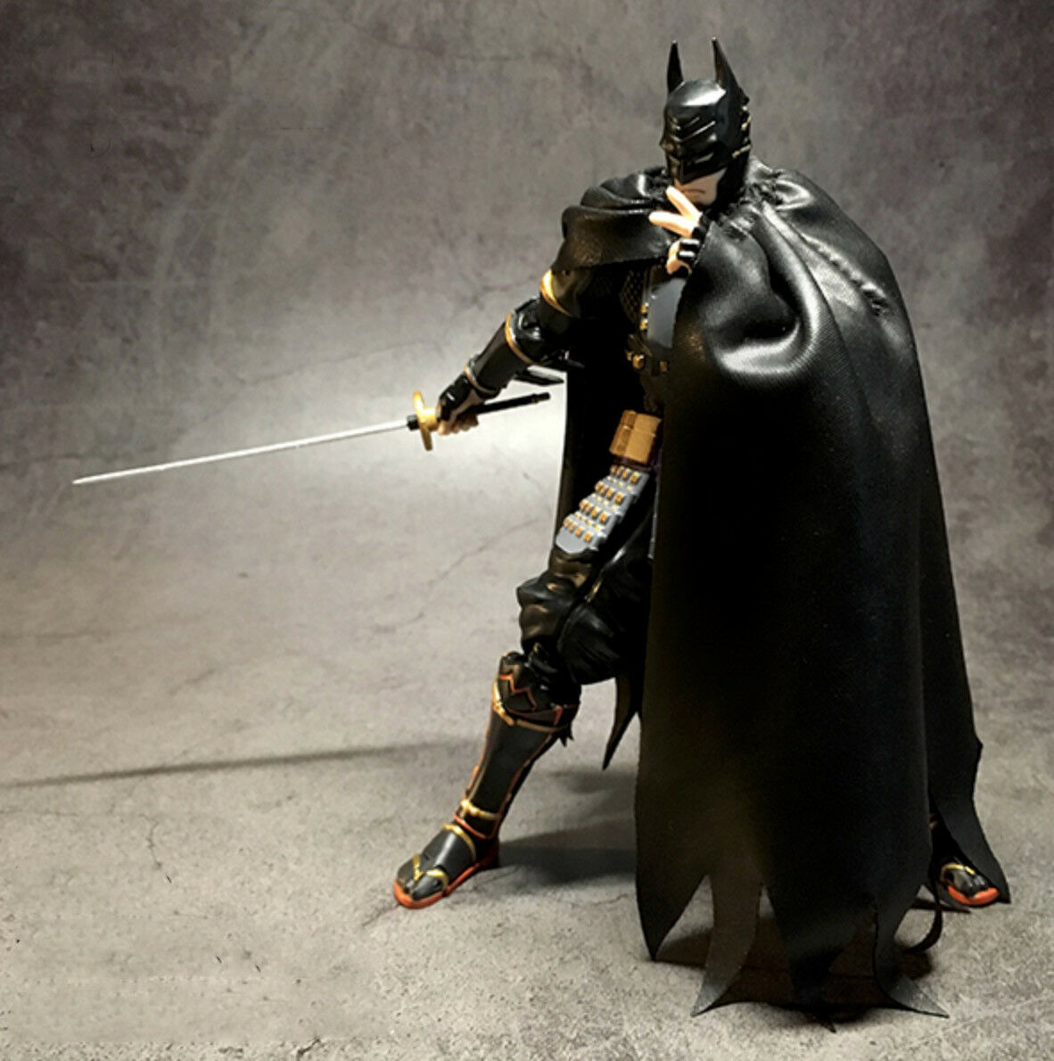 my c bat custom cape for bandai