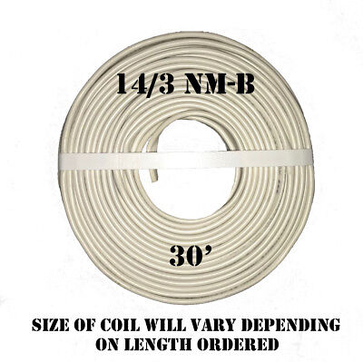 143 Nm-b X 30 Southwire Romex Electrical Cable