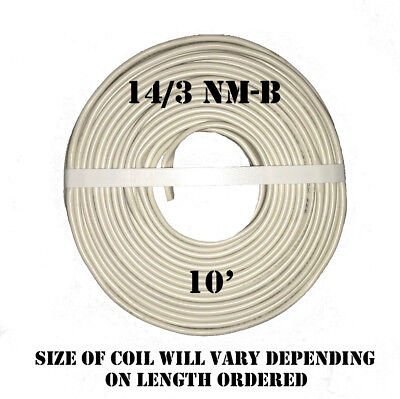 143 Nm-b X 10 Southwire Romex Electrical Cable