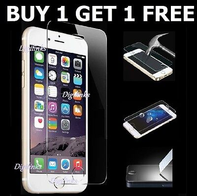 Genuine Tempered Glass Screen Protector Protection For Apple iphone 6S -NEW