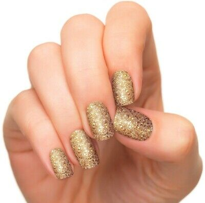 INCOCO Nail Applique Wraps Strips Made With 100% Real Nail Polish - GOLDEN AGE