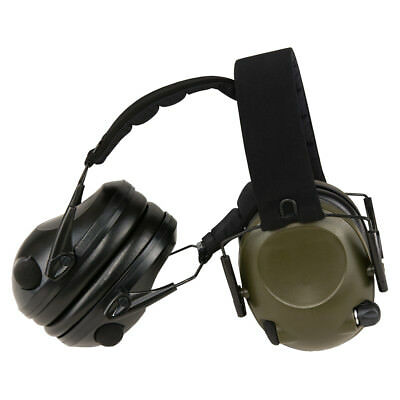 Elektronischer aktiver Gehörschutz, AUX-Anschluss, Helmkompatibel, Mil-Tec