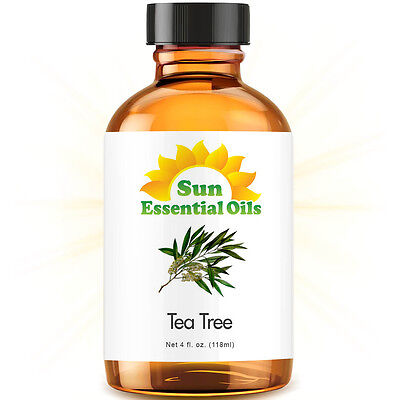 Best Tea Tree Essential Oil 100% Purely Natural Therapeutic Grade 4oz