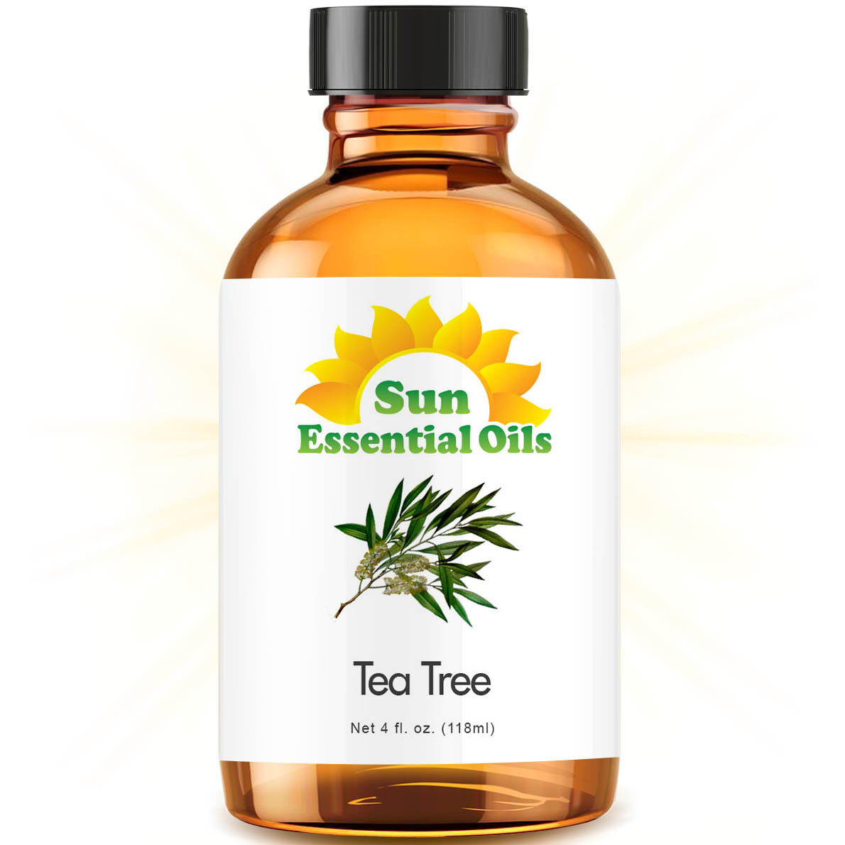 tea tree essential oil large 4oz 100