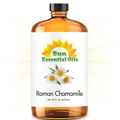 Best Chamomile (Roman) Essential Oil 100% Purely Natural Therapeutic Grade