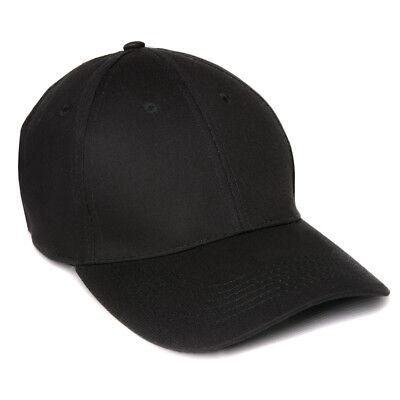 Mil-Tec Baseball Cap schwarz | Verschluss verstellbar | für alle Größen
