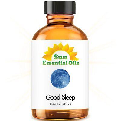 Good Sleep Essential Oil Blend (Large 4oz) 100% Pure Glass Bottle + (Glass Blend)