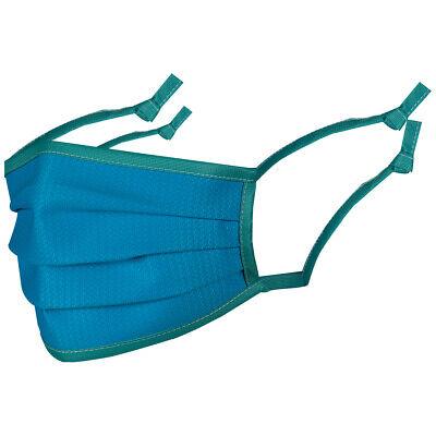 Topaz MAM2 Mundschutz - EN 14683 - Mund-Nasen-Maske ohne Nasenbügel - Blau