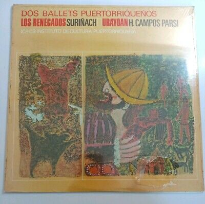 Dos Ballets Puertorriquenos Los Renegados Urayoan  ICP-C 9 SEALED LP  LP#1350