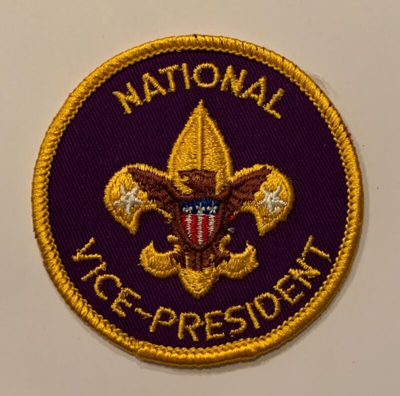 BSA National Office Patch - Vice-President