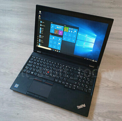 Lenovo ThinkPad P50 CAD/Gaming i7 laptop, 8GB/256SSD, Quadro M1000M, good -S92K