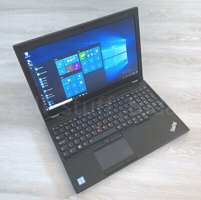 Lenovo ThinkPad P50 CAD/Gaming i7 laptop, 8GB/256SSD, Quadro M1000M -S203