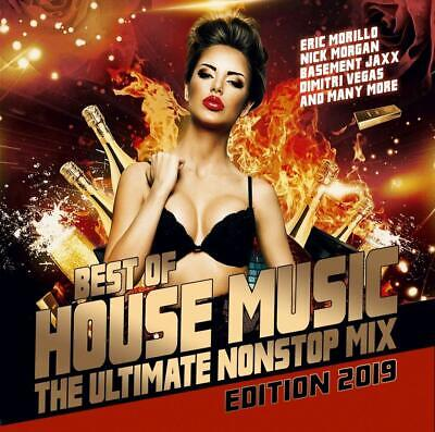 BEST OF HOUSE MUSIC-THE ULTIMATE NONSTOP MIX 2019 - DIMITRI VEGAS/+  CD
