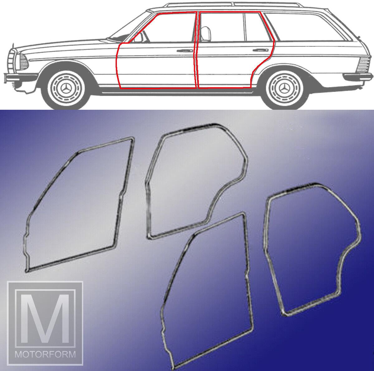 Mercedes W123 Kombi Türgummi vorne links T-Modell S123 Türdichtung Fahrertür neu