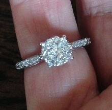 18ct White Gold Diamond Ring Mannum Mid Murray Preview