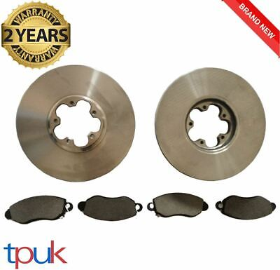 FORD TRANSIT 2.0 MK6 FRONT BRAKE DISCS AND PADS 260 280 300 FULL SET FWD 00-06