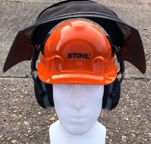 Stihl Function Basic Chainsaw Helmet With Ear Defenders & Visor P/N 00008880803