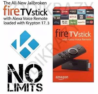Amazon Fire Stick With Kodi 17.3, Free Movies, TV Shows Etc. With Tutorial Video