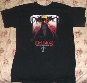 Anime Original Hellsing T Shirt SMALL Alucard 100% Cotton
