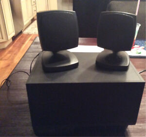 Altec Lansing Multimedia Computer 2 Speakers & Subwoofer