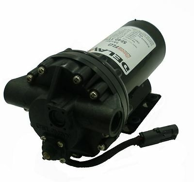 Delavan Powerflo Series Diaphragm Pump 12v 60 Psi 4 Gpm W Bypass 5840-111e