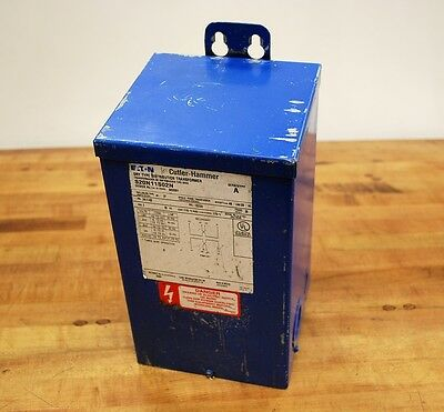 Cutler-hammer S20n11s02n Dry Type Distribution Transformer 240480v 2kva - Used