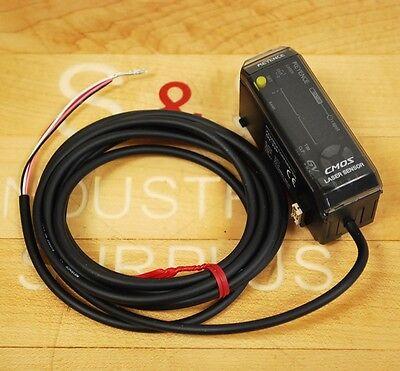 Keyence Gv-22p Laser Sensor Amplifier Digital Cmos 10-30 Vdc Pnp - New