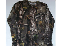 NEW Boys T Shirt Large 14-16 Top Mossy Oak Camouflage Deer Hunting Gray Tee