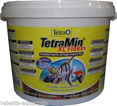 TetraMin XL 10L Hauptfutter Tetra Min Flockenfutter Flakes Fischfutter frisch