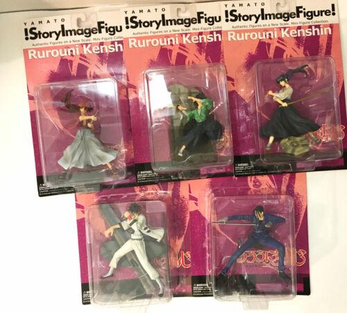 Rurouni Kenshin story image vol 1 figure FULL set part NEW