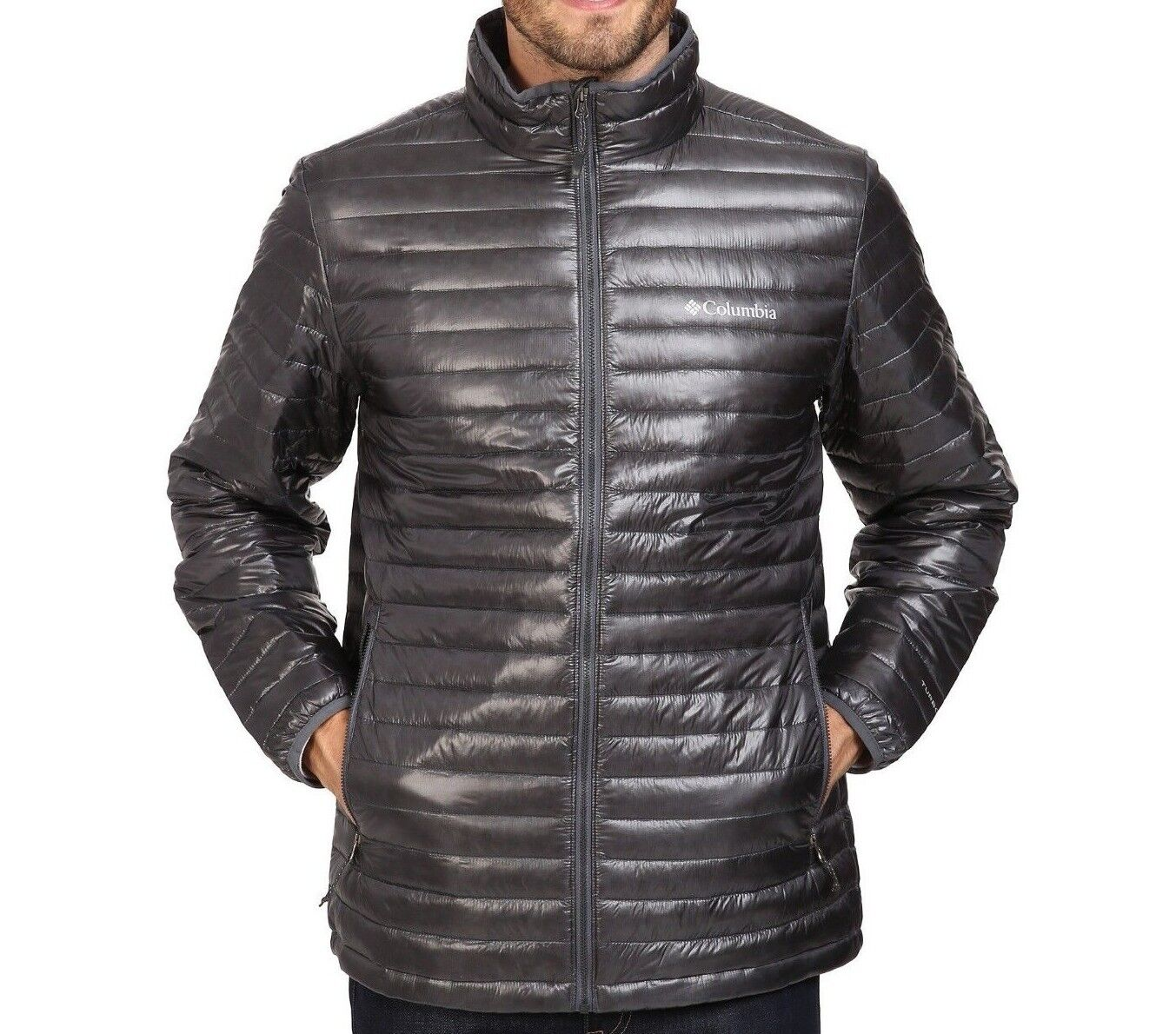 Columbia MEN'S Platinum Plus 740 TurboDown Jacket Graphite G