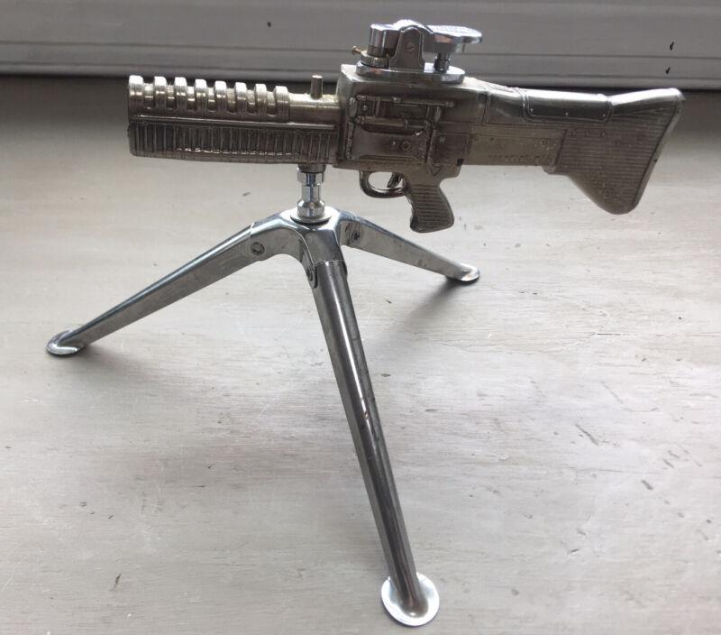 Vintage Browning M60 Machine Gun Table Top Desk Lighter
