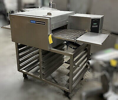 Used 1100 Series Impinger Ii Conveyorized Oven With Cart