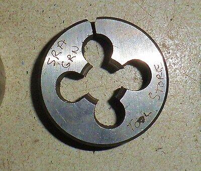 M10 x 1.0 OD 38mm tungsten steel  split Die Button Metric NEW RH