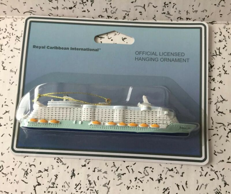 NEW RCCL Oasis of the Seas Cruise Ship Ornament Souvenir Royal Caribbean Gift
