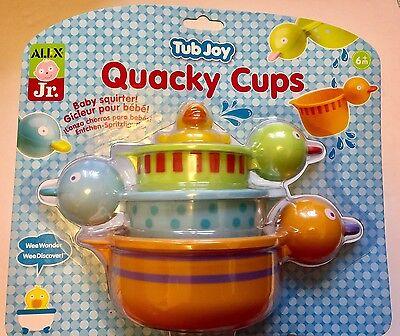 Alex Jr. Tub Joy Quacky Cups Bath Toy New Free Delivery