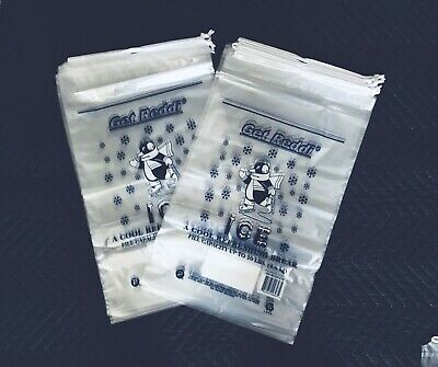 • Plastic Drawstring Ice Bag 1.5mil 10 Lbs • w/15% More Bags 115pcs for sale  Tampa