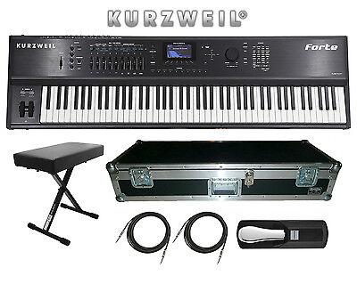 Kurzweil Forte 88 Key Stage Piano Keyboard BRAND NEW FREE HA